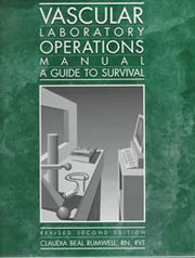 Vascular Laboratory Operations Manual